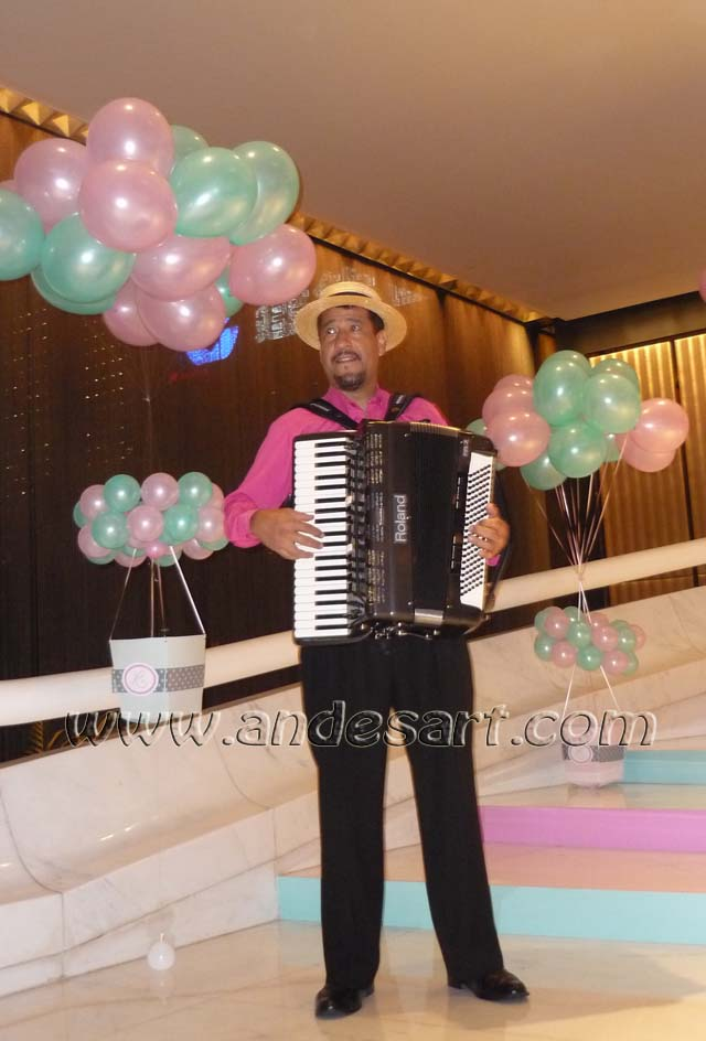 Accordion Salvador Wedding